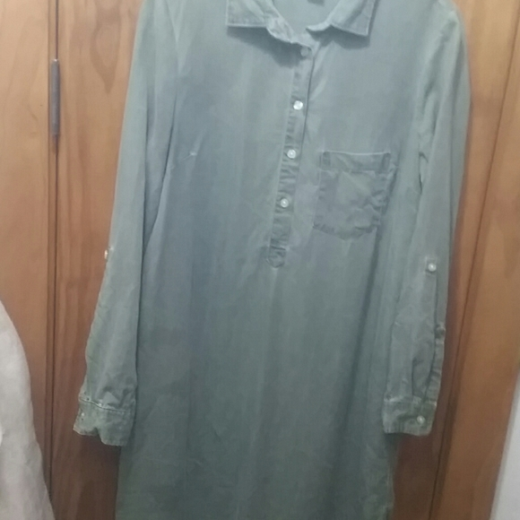 Old Navy Dresses & Skirts - Set of two OLD NAVY long sleeve shirt dresses